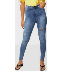 missguided vintage high waist jeans skinny