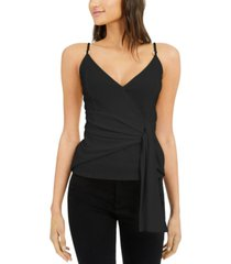 inc twisted tie-front tank top, created for macy's