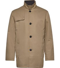 slhsimon coat bp dunne lange jas bruin selected homme