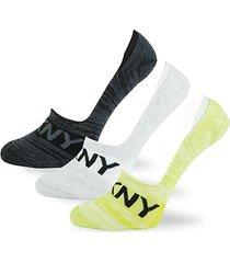 3-pack logo foot socks