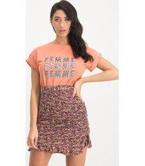 lofty manner mm82 t-shirt daria peach 755 -