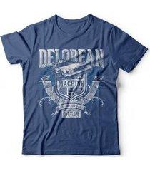 camiseta delorean time machine - unissex