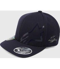 gorra azul alpinestars imperceptible tech hat