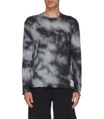 hand tie-dyed cloud merino™ long t-shirt