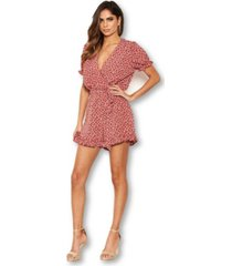 ax paris women's floral printed romper