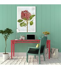 obraz na płótnie - rózowy kwiat-50x70cm