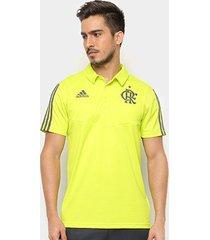 camisa polo flamengo adidas treino masculina