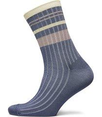sporty rainbird sock lingerie hosiery socks blå becksöndergaard