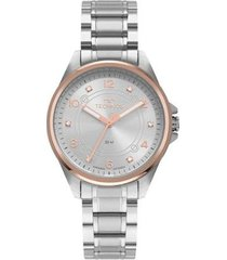 relógio technos elegance boutique 2035mrp/1k feminino