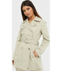 michael michael kors classic sateen trench trenchcoats