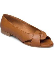 sika ballerinaskor ballerinas brun pavement