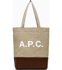 a.p.c. axelle shopper bag liadu-m61444