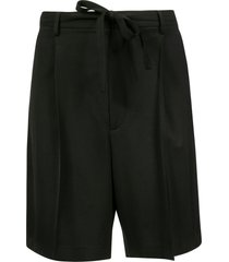 ambush poly/wool suit shorts
