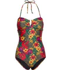 kelly swimsuit baddräkt badkläder multi/mönstrad gestuz