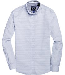 joe joseph abboud repreve® blue stripe sport shirt