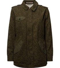military jacket zomerjas dunne jas groen scotch & soda
