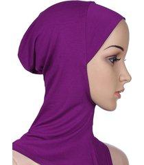sciarpa musulmana di cotone modale traspirante musulmano hijab islamico foulard musulmano