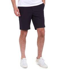 men's barbour bay ripstop cotton shorts, size large - blue