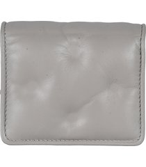 maison margiela buttoned trifold wallet
