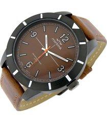 reloj marrón montreal cuero
