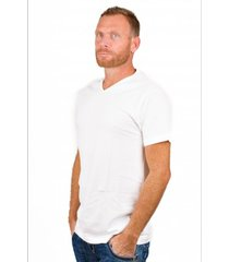 alan red t-shirt vermont extra long white( 2 pack)