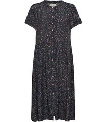 aliya dress knälång klänning svart lollys laundry