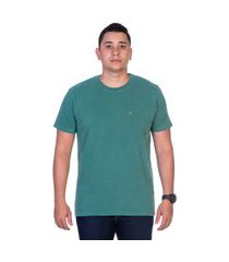 camiseta yes basic t shirt gola redonda verde