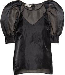 maiko blouses short-sleeved zwart baum und pferdgarten