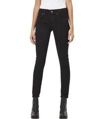 midge zip mid waist skinny jeans