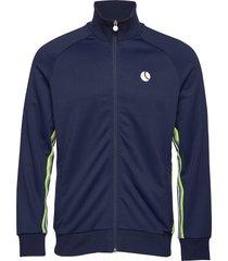 thor track jacket sweat-shirt trui blauw björn borg