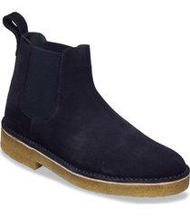 desertchelsea2 desert boots snörskor blå clarks originals