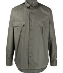 costumein military pocketed shirt - green