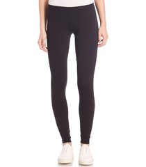 splendid women's stretch cotton-blend leggings - black - size s