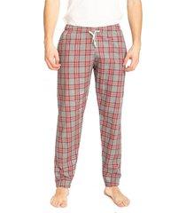 pantalón rojo pato pampa pijama escoces
