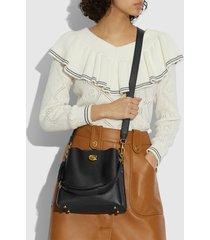 coach women's willow bucket bag 21 - black