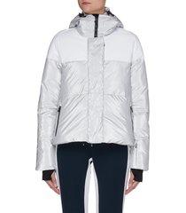 'lolita' hooded ski jacket