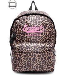 mochila bts leopard multicolor everlast