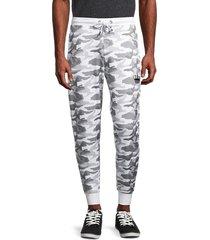 bertigo men's camouflage-print jogger pants - camo - size l