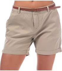 womens flash chino shorts