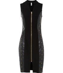 abito con borchie (nero) - bodyflirt boutique