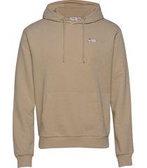 men edison hoody hoodie trui beige fila