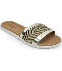 priceshoes sandalias planas playeras para mujer 022b8359113dorado