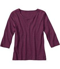 biokatoenen shirt met ronde hals, braam 44
