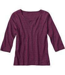 biokatoenen shirt met ronde hals, braam 36/38