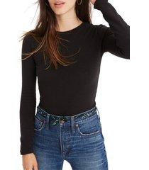 women's madewell crewneck bodysuit