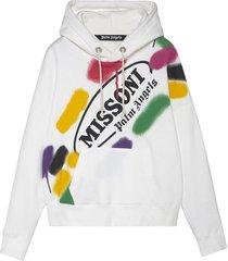 x missoni sport hoodie white