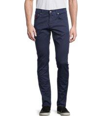 isaia men's 2-piece slim straight jeans & bandana set - white - size 60 (44)