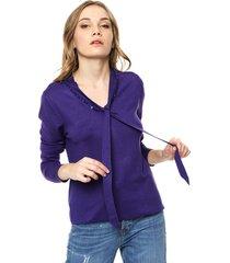 sweater azul ted bodin lazo