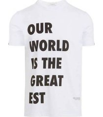 ''our world is the greatest'' t-shirt
