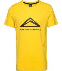 m tech tee t-shirts short-sleeved gul peak performance